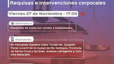 """Photo of Conversatorio """"La Detención sin orden judicial"""": para docentes de todos los niveles y modalidades."""