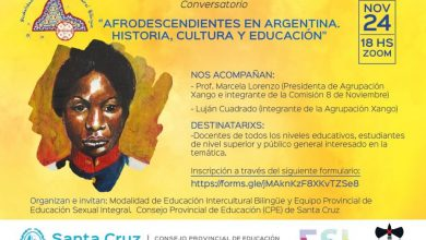 Photo of Invitan al conversatorio «Afrodescendientes en Argentina. Historia, Cultura y Educación».