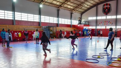 Photo of Río Gallegos, Buen acompañamiento en la Colonias de Vacaciones del Gimnasio Benjamín Verón.