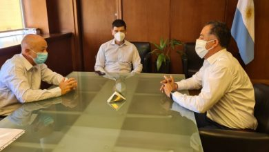 Photo of Caleta Olivia, Plan de vacunación: Cotillo y Quiroga se reunieron con el Secretario de Calidad en Salud de Nación.