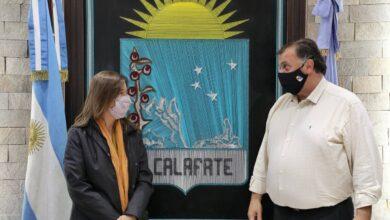 Photo of Frederic en Santa Cruz: reunión con el intendente de El Calafate y visita a las instalaciones de Prefectura y Gendarmería.