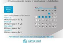 Photo of Cronograma de pago de haberes del Estado Provincial y recomendaciones a la comunidad.