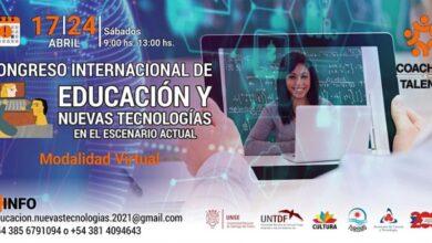 """Photo of Santa Cruz participará del """"1er Congreso Internacional de Educación y Nuevas Tecnologías en el escenario actual""""."""