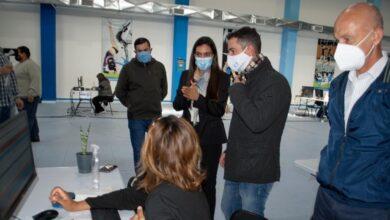 Photo of Caleta Olivia, Cotillo y Suarez Moré recorrieron el vacunatorio y el Centro de Monitoreo.