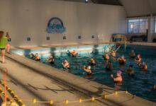 Photo of Caleta Olivia, Continúan desarrollándose las actividades en el natatorio municipal.