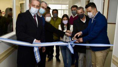 Photo of PAE entregó equipamiento para la nueva sala de internación del Hospital Rural de Sarmiento.