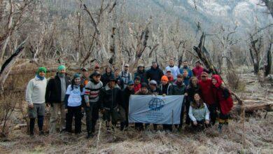 Photo of Plantar vida y futuro: misión ambiental de Cascos Blancos en Chubut.
