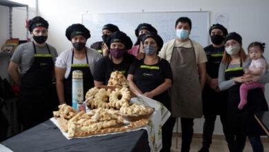 Photo of Caleta Olivia, Jóvenes realizan una segunda capacitación en Panadería.