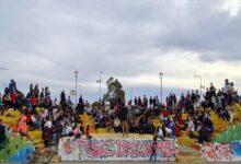 Photo of Caleta Olivia, Patagonia Free: Gran convocatoria en el evento de arte urbano.